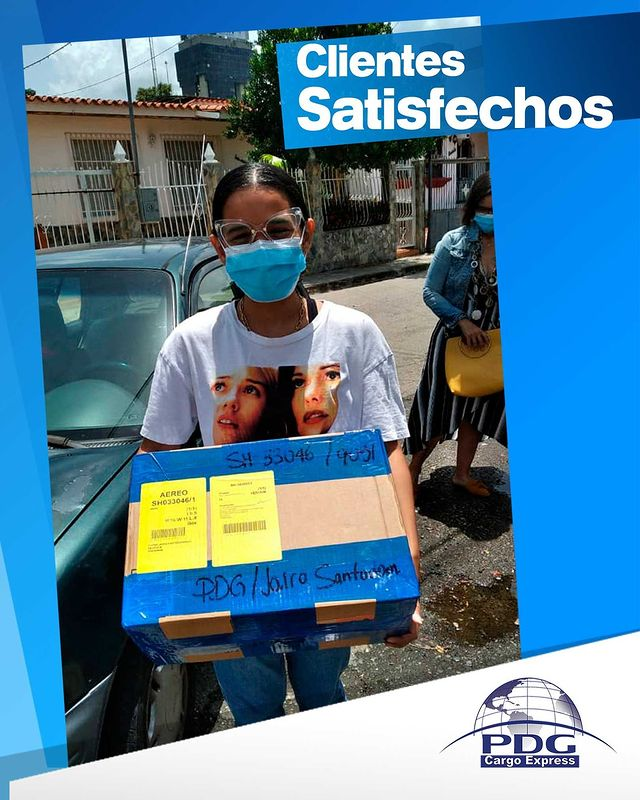 Clientes Satisfechos -  PDG Cargo Express